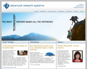 Advanced Network Systems - 2010