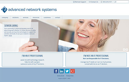 Advanced Network Systems - current site