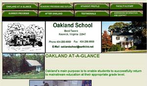 Oakland School - original site