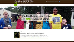 Oakland School - current site