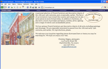 Franceantique.com - original version