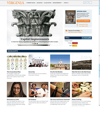 UVA Magazine - current site