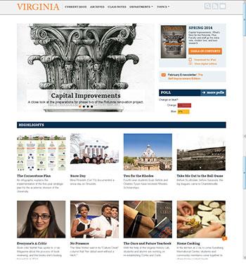 UVA Magazine - current site