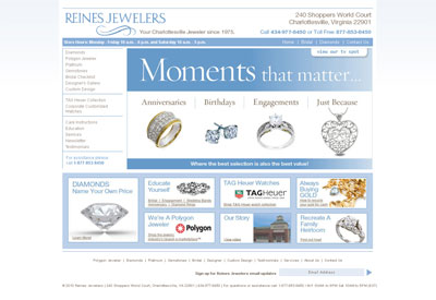 Reines Jewelers - before