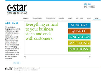 C-Star Solutions - current site