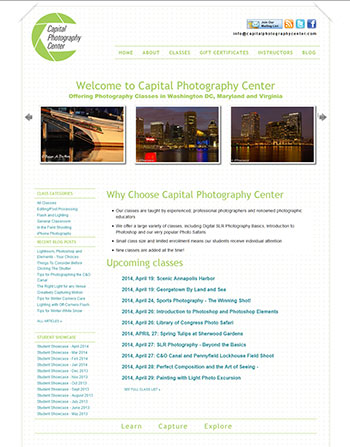 Capital Photography Center - current site