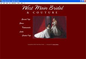 West Main Bridal - original site
