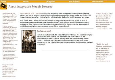 Leadingforth.com  - 2001 original site