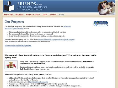 Friends of JMRL - 2007