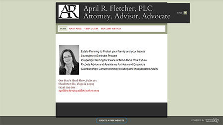 April Fletcher Law - original site